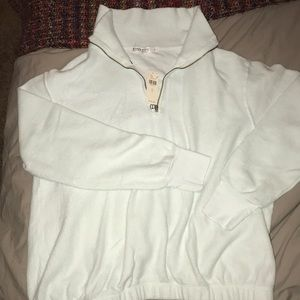 NWT Stateside for Anthropologie quarter zip fleece